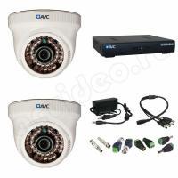 Комплекты видеонаблюдения Комплект 2-1 HD видеонаблюдения на 2 камеры
