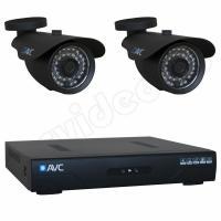 Комплекты видеонаблюдения Комплект 2-2 HD New Level видеонаблюдения на 2 камеры