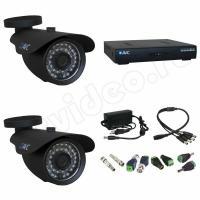 Комплект видеонаблюдения Комплект 2-2 Full HD видеонаблюдения на 2 камеры
