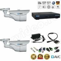 Комплекты видеонаблюдения Комплект 2-2 HD видеонаблюдения на 2 камеры