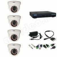 Комплект видеонаблюдения Комплект 4-1 HD видеонаблюдения на 4 камеры