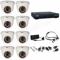 Комплект видеонаблюдения Комплект 8-1 Full HD видеонаблюдения на 8 камер
