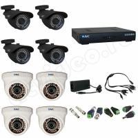 Комплект видеонаблюдения Комплект 8-3 Full HD видеонаблюдения на 8 камер