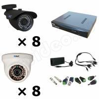 Комплекты видеонаблюдения Комплект 16-3 Full HD видеонаблюдения на 16 камер