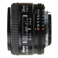 Фиксированный объектив Nikkor AF 28 mm F/2.8 D