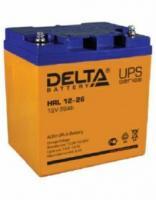 Свинцово-кислотный аккумулятор Акк. Delta HRL 12-26