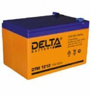 Аккумуляторы Акк. Delta DTМ1212