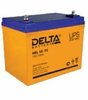 Свинцово-кислотный аккумулятор Акк. Delta HRL 12-75
