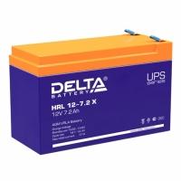 Свинцово-кислотный аккумулятор Акк. Delta HRL 12-7.2