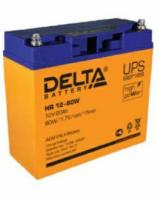 Свинцово-кислотный аккумулятор Акк. Delta HR12-80W
