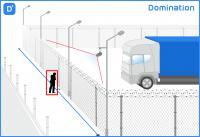 Domination Модуль Детектор периметра и пересечение линии