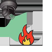 Программное обеспечение AltCam AltCam Детектор огня